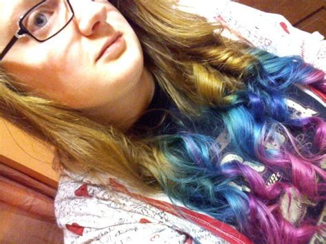 104 Best Multi Colored Hair Images On Pinterest Chalking