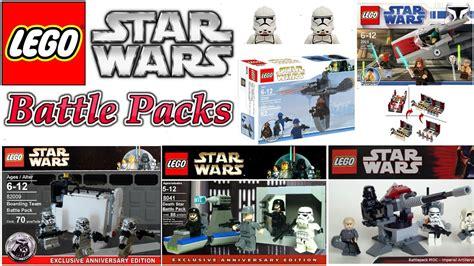 awesome lego star wars custom battle packs youtube