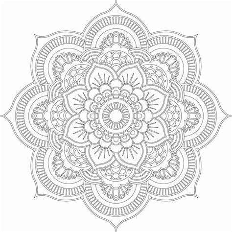 advanced coloring pages mandalas images