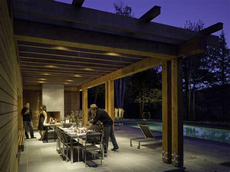 pool pool house modern patio burlington