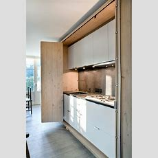 Disappearing Act 14 Minimalist Hidden Kitchens  Remodelista
