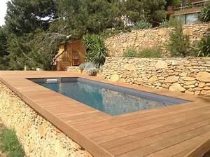 Mini Pool Terrasse : 25 best ideas about piscine hors sol on pinterest beautiful pools petite piscine and raised ~ Orissabook.com Haus und Dekorationen