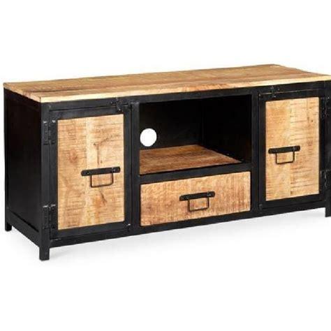 meuble tv bois metal pas cher id 233 es de d 233 coration int 233 rieure decor
