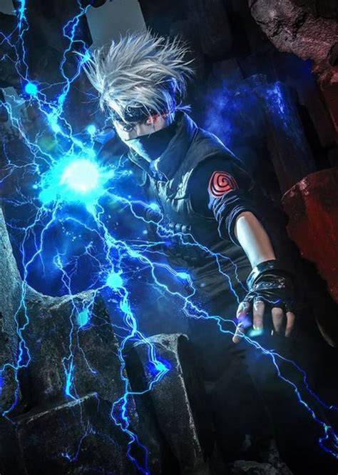 awesome kakashi hatake cosplay  naruto