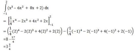 pengertian rumus integral tentu  tak tentu contoh soal