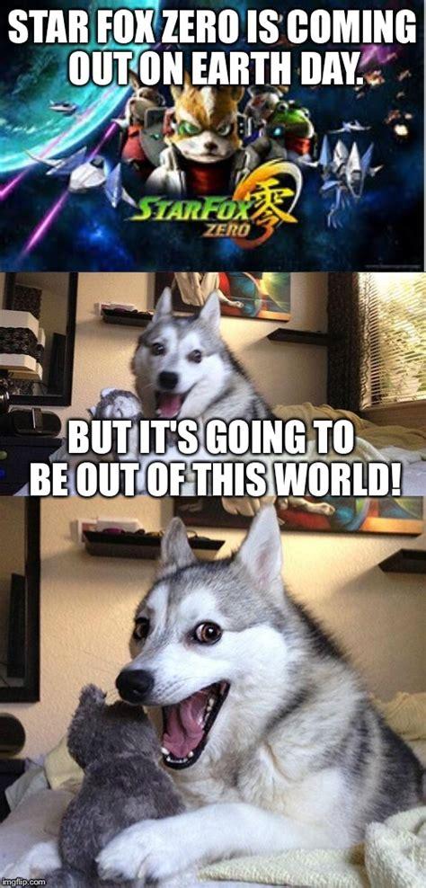Star Fox Meme - bad pun dog meme imgflip