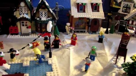 lego christmas village review  youtube