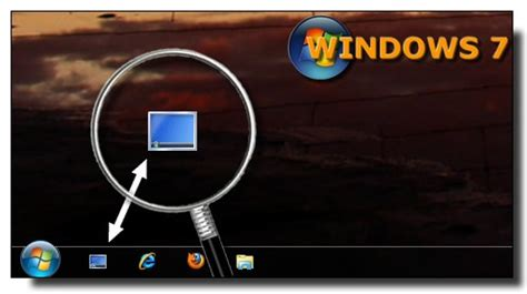 icones bureau windows 7 windows 7 ajouter le raccourci afficher le bureau dans