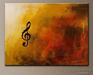 G Symphony-Music Art/Jazz-Abstract Art Paintings by ...
