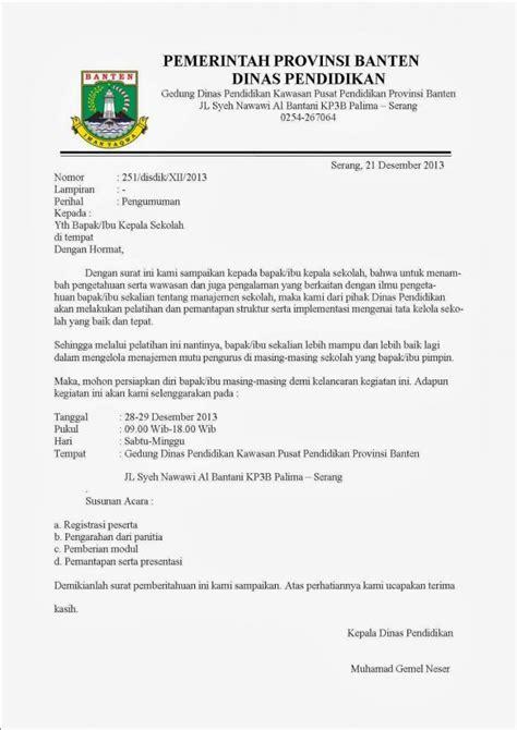 12 contoh surat dinas sekolah perusahaan kesehatan