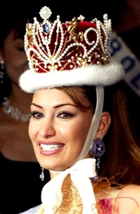 Miss Lebanon 2001-2002 Christine Sawaya