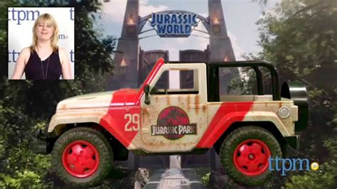 jurassic world jeep 29 jurassic world jeep wrangler r c from jada toys youtube