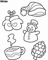 Coloring Snow Winter Sheet Sheets Colour Tools Printable Northern Templates sketch template