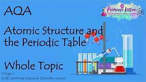 Chapter 5 Atomic Structure And The Periodic Table Answer