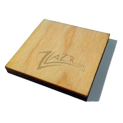 nominal thickness wooden square tag