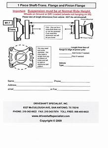 Truck Driveshafts Master Page