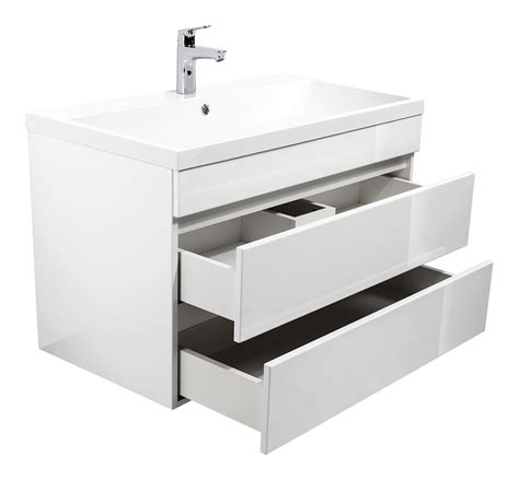 Badezimmer Unterschrank Grifflos by Badm 246 Bel Quot Soho Quot 70 90cm Grifflos Mit Waschtisch Und