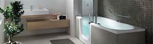 la baignoire a porte accessibilite et securite With porte d entrée alu avec salle de bain pour personnes à mobilité réduite