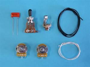 Am Guitar Works 1 Volume 1 Tone 1 Toggle Guitar Wiring Kit