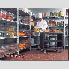 Tiger Rack™ Hygienic Shelving Systems Rochdale Lancashire