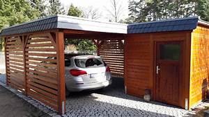 Carport An Hauswand : mhb carports holz carport berlin brandenburg deutschland ~ Orissabook.com Haus und Dekorationen