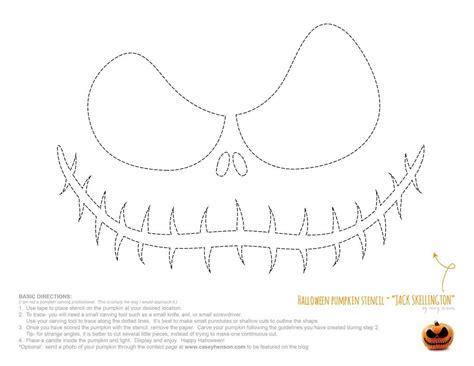Jack Skellington And Sally Pumpkin Stencils Free Printable