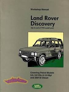 Land Rover Discovery Shop Manual Service Repair Book