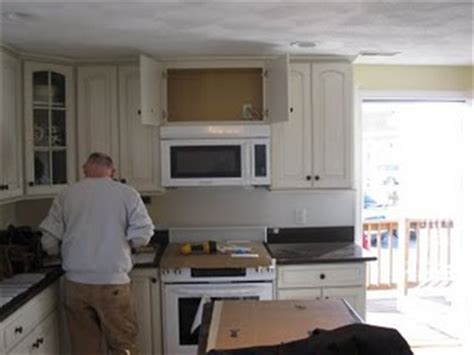install  vented microwave oven