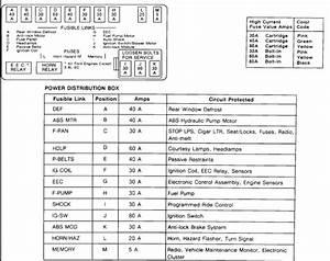 Fuse Panel 1992 Sport