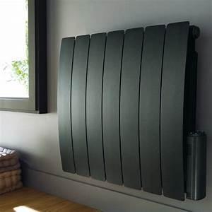 Chauffage Electrique A Inertie : chauffage electrique noir promotion radiateur electrique ~ Edinachiropracticcenter.com Idées de Décoration