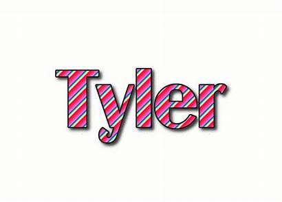 Tyler Logos Text Animated