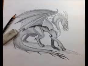 Realistic Dragon Drawings Easy
