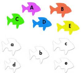 matching alphabets with pictures worksheets letters matching alphabet kindergarten