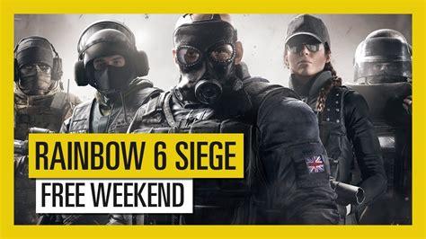 siege free play rainbow six siege free this weekend pc