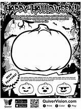 Quiver Coloring Scary Writing Halloween Kleurplaat Stories Techie Chick Diary Printable Pompoen Ar Augmented Reality Malvorlage Imagenes Coloriage Imprimer Topkleurplaat sketch template