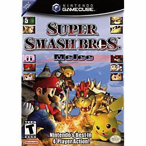 Super Smash Bros Melee Gamecube Game