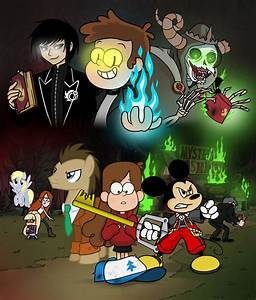 The First Gravity Falls Crisis By Crydius On DeviantArt