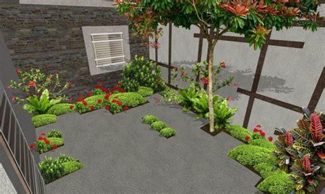 patio  sendero creativo de adoquin el ave fenix