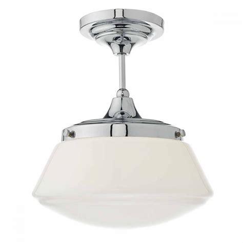Deco Bathroom Lighting Fixtures by Modern Classic Deco Chrome Bathroom Ceiling Light With