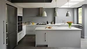 quelle couleur de mur pour une cuisine et quels codes deco With murs cuisine gris perle