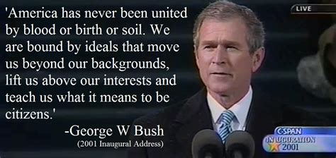 America Has Never Been United By Blood Or Birth Or Soil