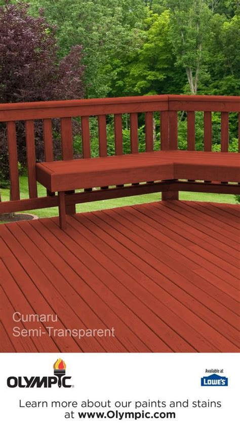 Olympic Deck Stain Colors by 76 Best Images About Semi Transparent Semi Solid Stain