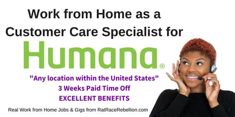 call humana customer service humana now hiring work from home as a customer care