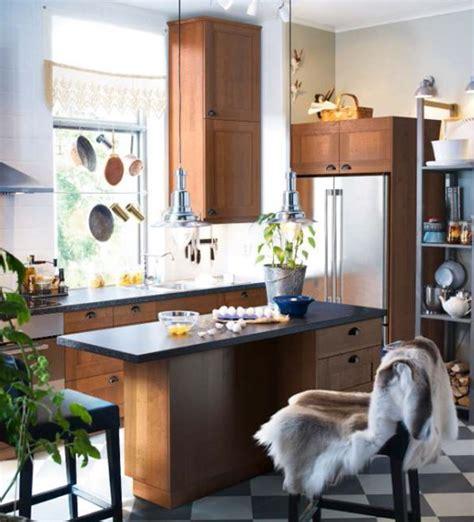 ikea cuisine ilot central cuisine bistrot 23 idées déco pour un style bistrot