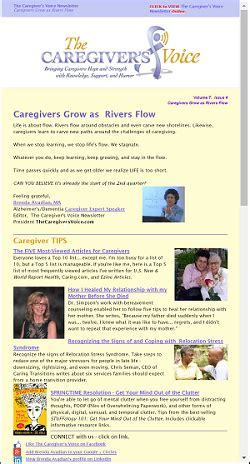 caregivers a voice caregiving is a team sport caregiver are you gettin it