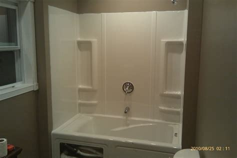 Bathtub Wall Panels, Tub Surround Trim Kit Tub Surround. Mirror Center Table. Robern Medicine Cabinets. Red Kitchen Cabinets. Glass Door Knobs. High Tech Ceiling Fan. Burke Brothers. Paramount Construction. Majestic Kitchens