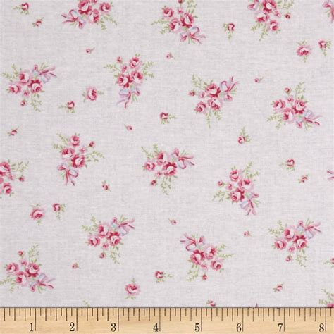 shabby chic fabric roses treasures by shabby chic ballet rose discount designer fabric fabric com