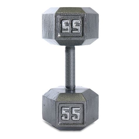 shop cap barbell  lb grey cast iron hex dumbbell  shipping today overstockcom