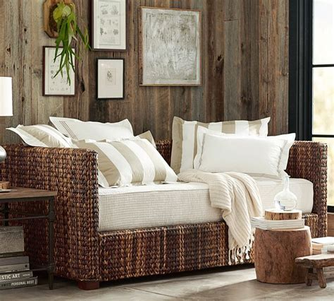seagrass daybed  trundle  dreamy beach house