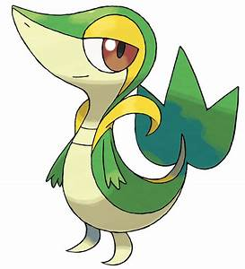 Snivy - Characters & Art - Pokémon Black and White